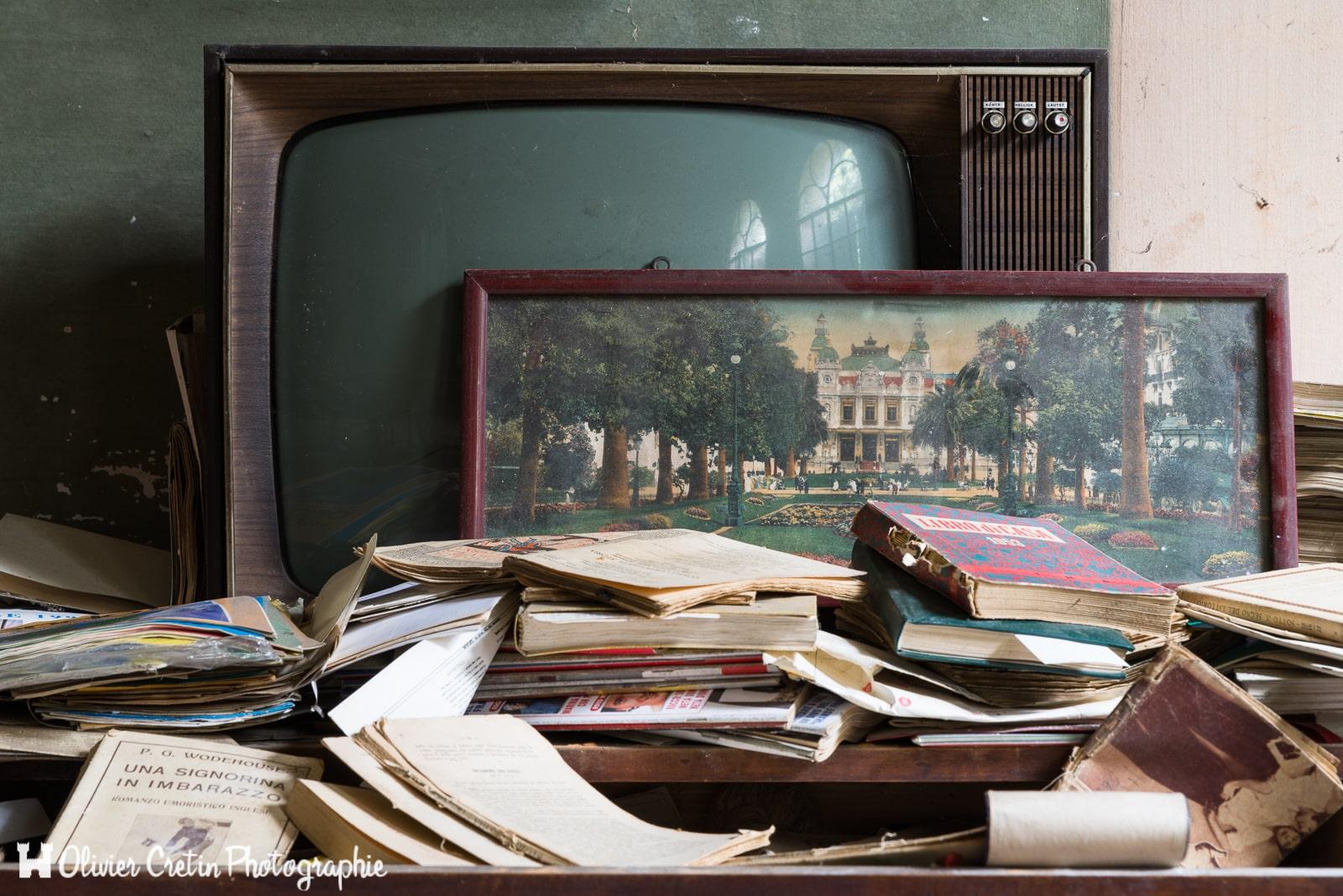 Villa du paon - Vu à la télé
