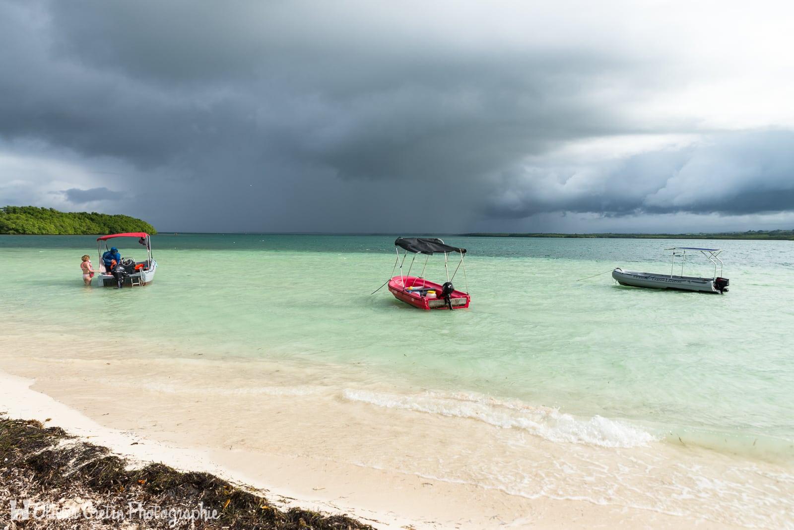 Guadeloupe - Ilet blanc - Une petite place au soleil