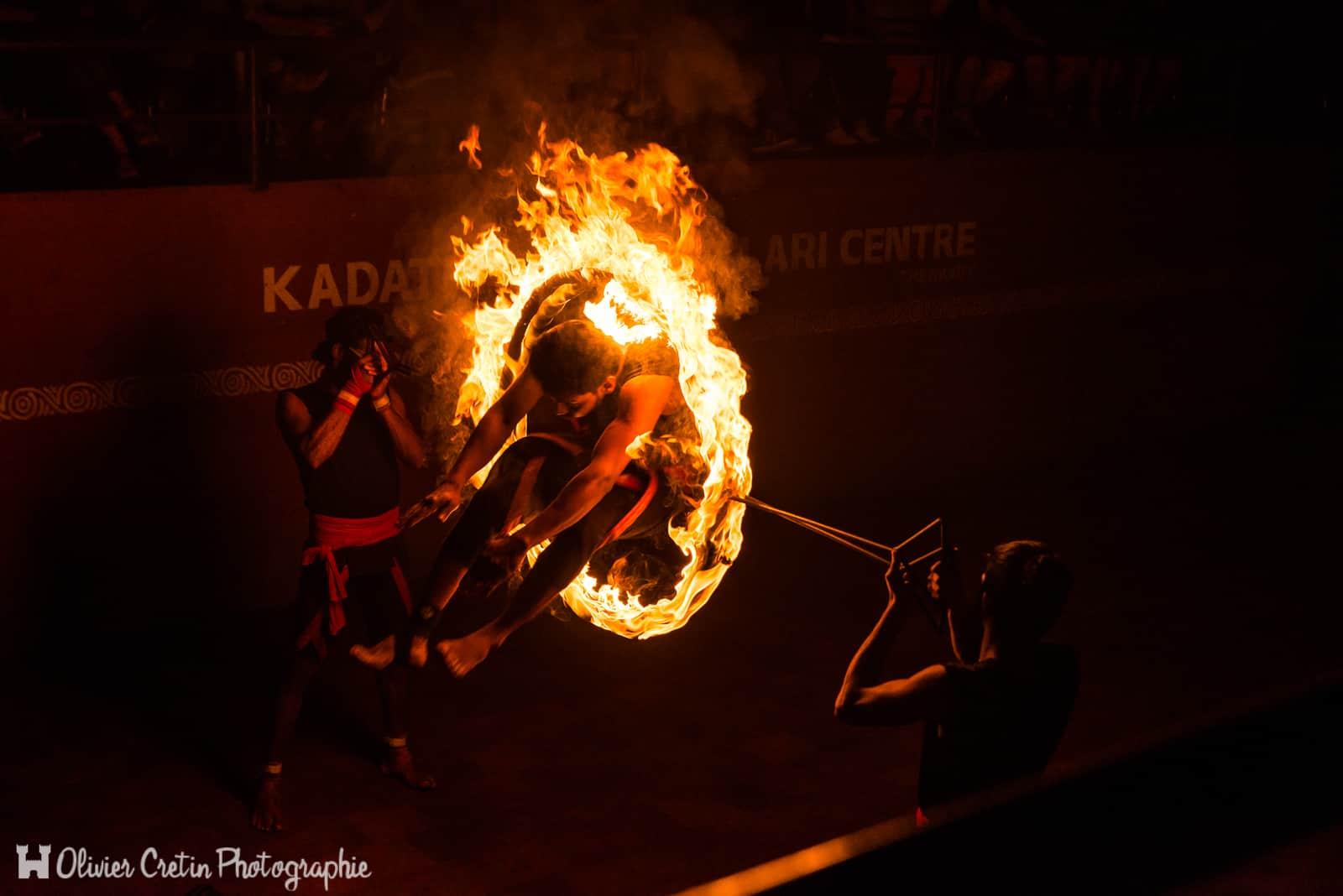 Inde - Kumily - Spectacle de Kalaripayat