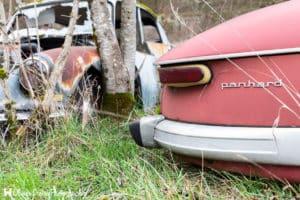 Le Cimetière de voitures vintage