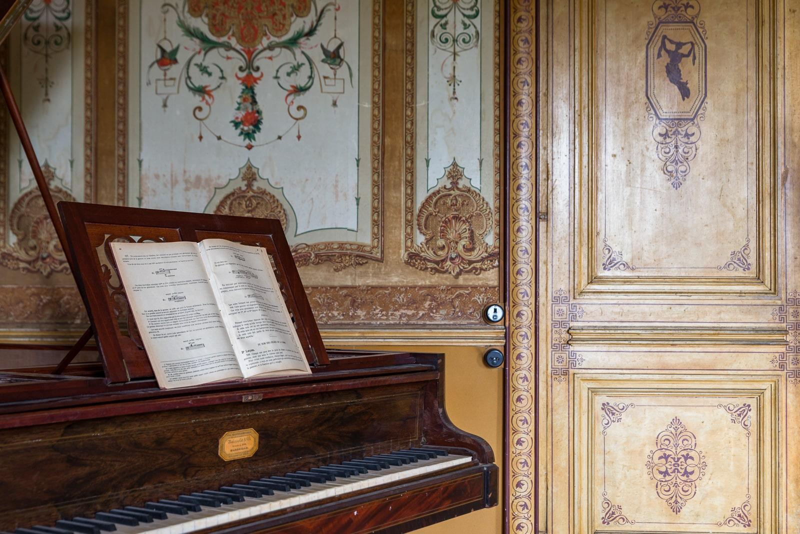 Le Château du pianiste (château Lucifer) / Ma technique photo urbex